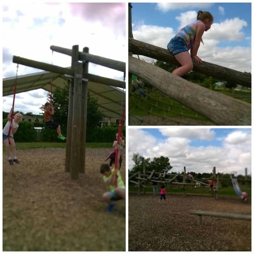 adventure park collage